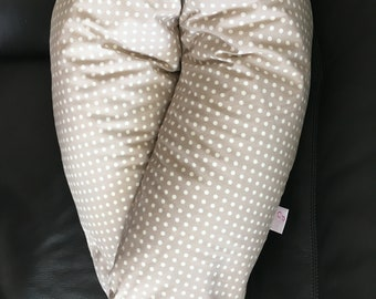Ecru nursing pillow