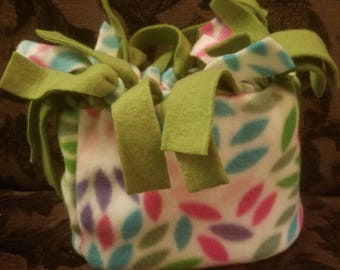 Women's HatBand leaf with pink or green