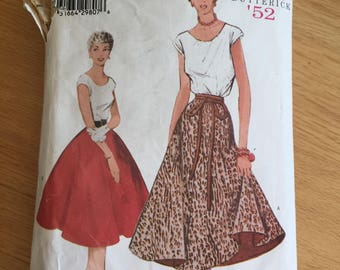 Retro '52 Butterick 6176 Dress size 14-16-18