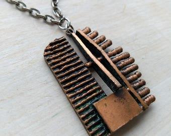Modernism scandinavian necklace