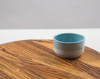 Sugar bowl |Porcelain sugar bowl | Celadon blue |Tableware