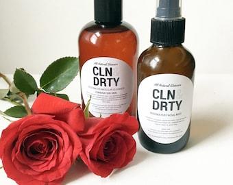 Rosewater Micellar Cleanser + Facial Mist, Bath Gift Set Ideas, Spa Gift Set, Skin Care Regimen, Spa Gift Box, Dry Skin Face Wash, Basket