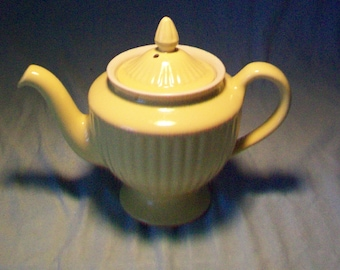 Hall Pottery Yellow Teapot