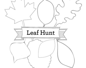 Downloadable Bug Scavenger Hunt Kids Printable Scavenger