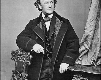 Poster, Many Sizes Available; Richard Wagner 1860