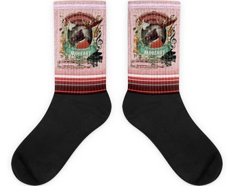 Mozart Moose Classical Music Gift Socks