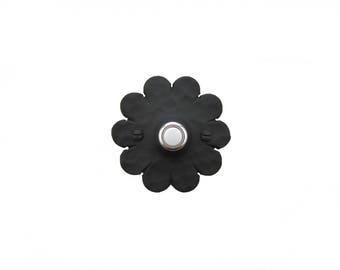 Spanish Rosette Wrought Iron Doorbell Cover D3