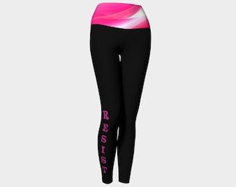 Resist leggings, Womens march leggings, Resist #resist, yoga leggings,