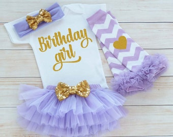 Birthday Girl Outfit, Baby Girl Birthday Shirt, Cake Smash Outfit, Girls First Birthday Outfit, Baby Girl Outfit, Birthday Girl Bodysuit