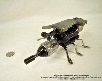 Heavy tank beetle- Welded Steel Industrial Sculpture