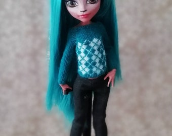 Monster high doll clothes / Кофта для кукол Monster High