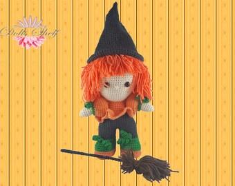 Halloween funny doll funny amigurumi doll crochet pattern pdf