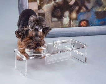 Personalised Pet Feeder, Pet Feeding, Dog Feeder, Cat Feeder, Feeding Stands for Pet, Modern Pet Feeder, Bowl for Cat, Bowl for Dog
