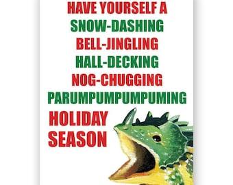 Dinosaur Holiday Card Set of 12