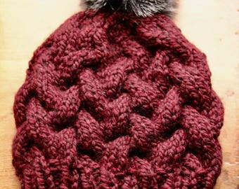 Braided Cable Hat