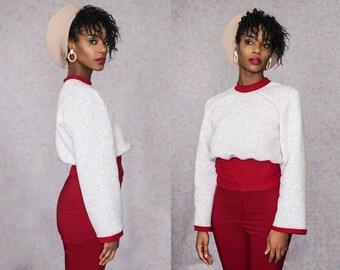 Fleece Lined Confetti Dot Sweater XS S M L XL XXL