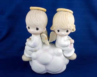 But Love Goes On Forever Precious Moments Figurine