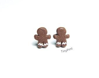 Ginger bread men cookies Earrings
