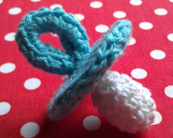 PDF-pattern crochet pacifier