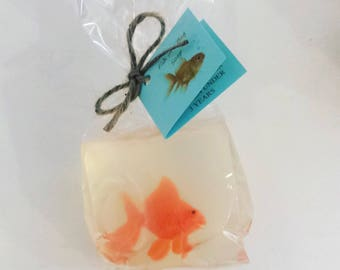 Fisch in eine Tasche-Seife