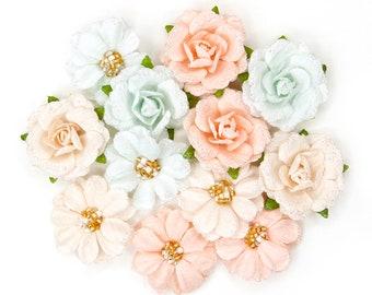 Prima - Love Story Collection - Flower Embellishments - Celestielle