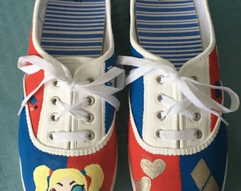 Suicide Squad Harley Quinn Shoes (SAMPLE DON'T PURCHASE)
