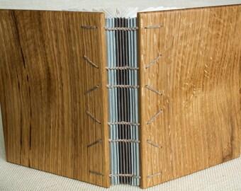 Wooden Guest Book / Journal - White Oak