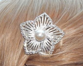 Bridal hair comb,Bridal hair piece,bridal headpiece,wedding hair comb,wedding hair piece wedding headpiece,Rhinestone and pearlhair comb