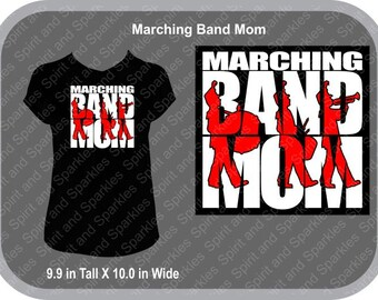Marching Band Mom T-Shirt, Tank or Hoodie