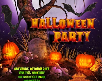 Halloween Party Invitation Halloween Invitations