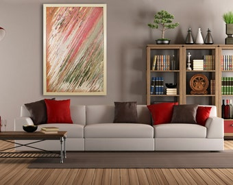 Extra Large Wall Art, Original Abstract, Glass Art, deco, Modern Home Decor, Original painting, contemporary, wall art, Modern wall hanging