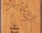 Fly Box - KAKWA RIVER MAP...