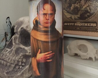 St Dwight K Scrute The Office Prayer Candle