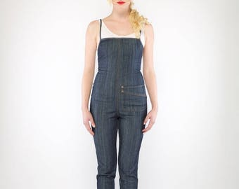 Freeway Jumpsuit (Steel Blue)