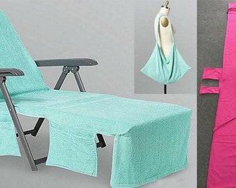 Monogrammed Beach Towel, Monogram Beach Towel, Beach Towel Chair Cover,  Large Beach Towel