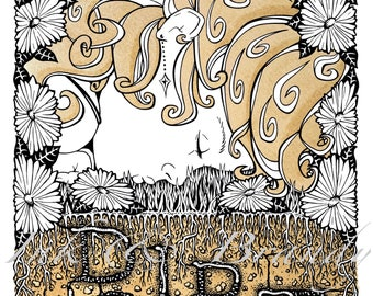 Dirt Print, Song Illustration