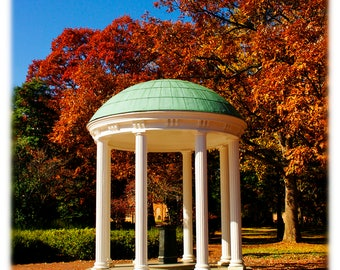 UNC-Chapel Hill Old Well in Autumn