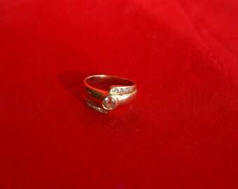 Nice gold and diamond ring