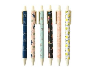 Cute Retractable Gel Ink Pens 0.5mm GP10002
