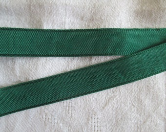 3 m extra strong bright green ribbon in 1.5 cm wide