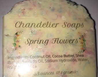 Flower Cart Soap