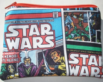 Star Wars Zipper Pouch - Comic Books, Movies, Geekery.