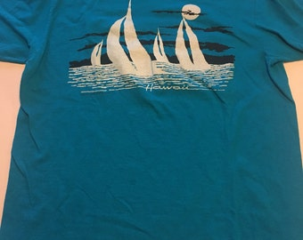 Vintage 80s Soft Hawaii T Shirt