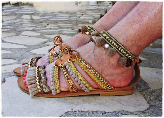 goddess'' leather sandals Gold luxurious Gold goddess'' qwPTEP