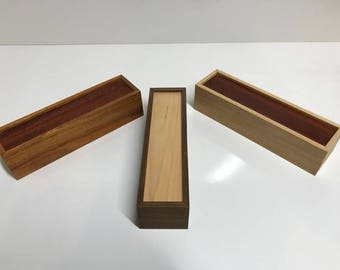 Handmade Wooden Dice Box for Gamers