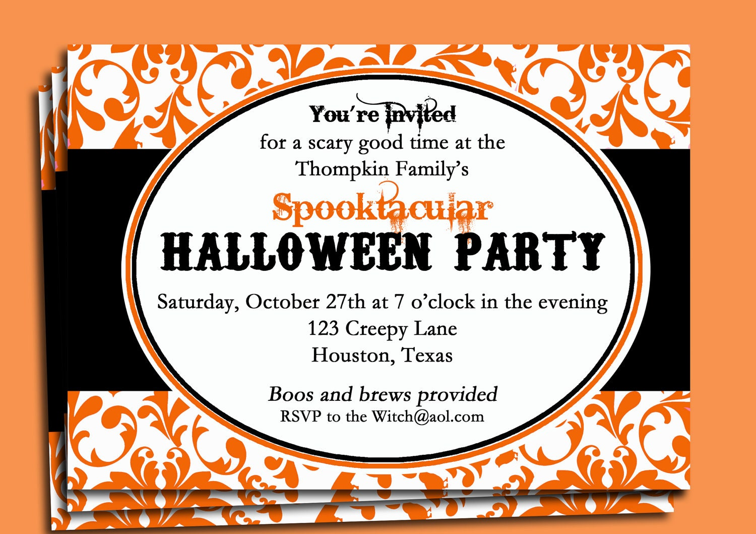 work party invitations