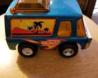 Retro Buddy L toy van