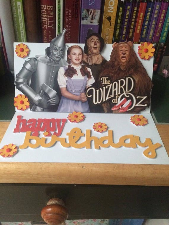 Wizard of oz birthday card wizard of oz dorothy movie bookmarktalkfo Image collections