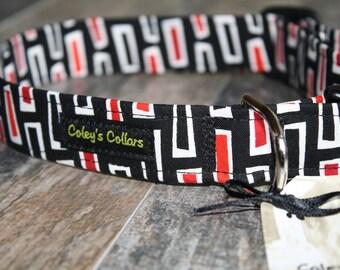 """Dog Collar, Dog Collars, Boy Dog Collar, Male Dog Collar, Girl Dog Collar, Modern Dog Collar, Trendy Dog Collar, """"The Brian"""""""