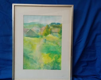 Original Abstract Watercolour.